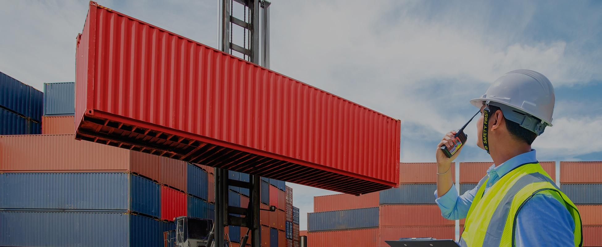 Kontejnerski transport robe